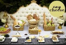 A different kind of Bar/Buffet / Not your regular candy bar, table or buffet. Pick your poison and make it happen in a wonderful, creative non traditional way! / by Papeℓ Couture  {Yaʑ