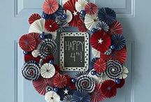 Americana- 4th of July / a little red white and blue in the the land of USA- because freedom isn't free