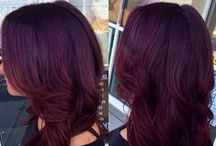 { Red & Purple Hair }