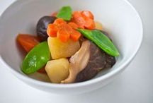 Japan: Ninomo 煮物 / stewed/simmered/cooked/boiled dishes