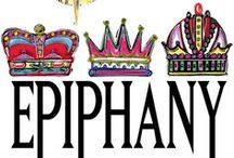 """Epiphany / Ephipany is celebrated on the 6th of January, the last of the Twelve Days of Christmas. It is the time when the Three Magi / Kings / Wise Men visited the stable to offer their gifts of Gold, Frankincense and Myrrh to the baby Jesus. """"After Jesus was born in Bethlehem in Judea, during the time of King Herod, Magi from the east came to Jerusalem, and asked, """"Where is the one who has been born King of the Jews? We saw his star when it rose and have come to worship him."""" Matthew 2"""
