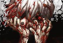 Tokyo Ghoul / Tokyo Ghoul ~ Tokyo Ghoul √A ~ Tokyo Ghoul:re ♥ ! / by Daniela Cruz