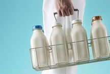 The Milkman Cometh / Vintage Milkman pictorials as we reminisce of a simpler, milkier time.