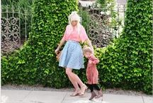 JoJo Mother & Child Inspiration / Mother and Baby outfit Ideas that match, coordinate or just look awesome!!