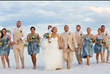 Wedding Color Palette: Blue
