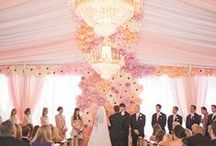 Wedding Color Palette: Pink
