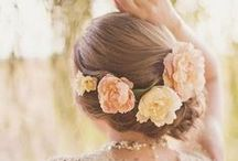 Wedding Hairstyles / Wedding hairstlyes from Up-do's, to Beachy Waves, Half Up Half Down and much more.