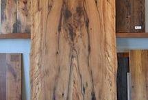 Slabs and Reclaimed Wood Beams / Unique wood slabs that we run across as well as reclaimed wood beams