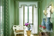 Color: Green / The color in every hue, from celery to emerald. / by Veranda Magazine