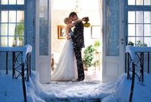 Winter Weddings / Check out gorgeous decor ideas, centerpieces, bouquets, gowns, and much more for a winter wedding.