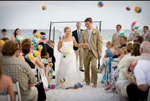 Summer Weddings / Check out gorgeous decor ideas, centerpieces, bouquets, gowns, and much more for a summer wedding.