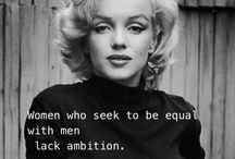 I am woman / All these feminist rants / by Ishshah Fluker