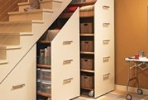 Unique Solutions for Home Organization / Keeping your home organized can be a challenge. It's all about finding what works for you. It's not about the containers!