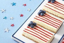 Red, White, & Blue!  / Great ideas to celebrate our nation in style.