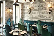 Hospitality Design / Inspiration for Hotels, Restaurants, and Bars