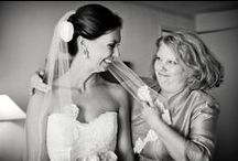 Mother-Daughter Wedding Moments / Touching moments between a mother and daughter on her wedding day