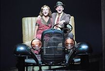 THEATER: Bonnie and Clyde - The Musical / Costumes, history and research for Bonnie and Clyde the musical.  Stage designs and lighting