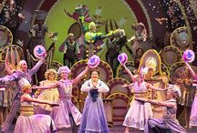THEATER: Beauty and the Beast -design and production / Stage production of Beauty and the Beast. Costumes, stage design, props and special effects.