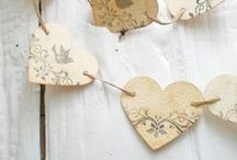 Banners and Garlands / Banners and Garlands are ADORABLE for any celebration, home decor, etc / by Chels Waite