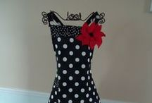 Aprons / These aprons are super cute for the cook!  / by Chels Waite