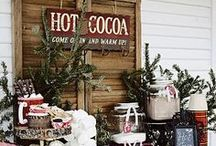 Winter Inspiration / It's beginning to feel like the holidays! Get inspired with these winter DIYs, decor and tasty treats.