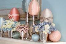 Easter Food & Decor
