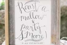 Clever Wedding Signs