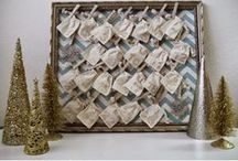 advent calendars / countdown to Christmas / by Trudy Montgomery