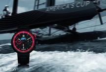 Louis Vuitton  / The Tambour Regatta America's Cup watch developed by Louis Vuitton