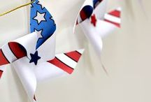 Fourth Of July / All the red, white and blue! Fun ideas for celebrating the fourth!