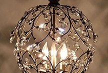 """Let There Be LIGHTS  / Lighting essentials, bulbs, nightlights, lamps, shades, chandeliers...lights indoors and outdoors.  Lighting, one of the """"little details"""". / by Jeanette Doyle"""