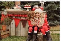 Fall Mini / Rustic, lodge, cabin, Christmas, winter, hot cocoa stand, camping
