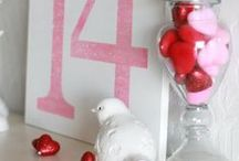 valentine decorating / decorating the home for February / by Trudy Montgomery