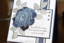 Sympathy card / Visit my board: Stampin Jacqueline My Gallery