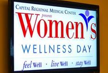 Women's Wellness Day 2013 / Saturday, July 13 10 a.m. – 1 p.m. Augustus B. Turnbull III Florida State Conference Center 555 West Pensacola Street, Tallahassee, FL  This event is free, but limited spots are available. Breakfast and lunch will be served. To RSVP call 850-325-3627.