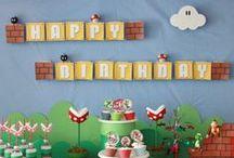 Super Mario / Rhett's first birthday? Photo shoot?