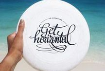 The Ultimate Life.- / Buy me a frisbee and take me to play ultimate..