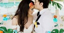 Summer Weddings / Summer Wedding Ideas for getting married under the sun.