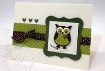 Stampin' Up! Owl Builder / Visit my board: Stampin Jacqueline My Gallery