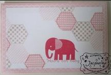 Stampin' Up!  Babies / Zoo Babies, Something for Baby, Made with Love For more inspiration visit my board: Stampin Jacqueline My Gallery