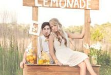 Lemonade Stand summer mini session