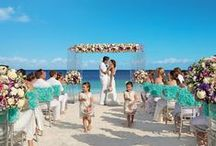Destination Weddings & Honeymoons / The best Destination Weddings & Honeymoon Spots / by Belle The Magazine