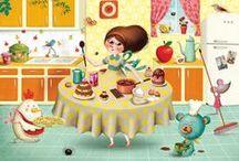 Marie Desbons & Nina de Sans - Illustrator / Two great illustrators