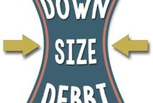 Downsize Debbi! / My journey to health! Goal - to lose half my body weight and reverse my type II diabetes and hypertension!