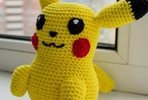 My crochet toys on Etsy!