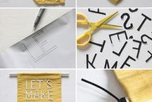 DIY Home / DIY projects for various parts of the home--tutorials and inspiration for my own DIYs.