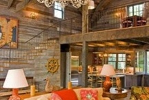 Living Rooms / My kind of living or cabins I would love to spend the rest of my life in!