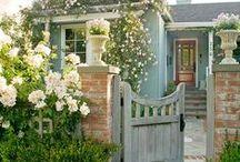 PRETTY BLUE HOUSE / by RW