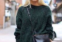 Cool Days / Fashion inspiration for cool/cold days.