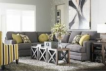 Color Trend: Gray & Yellow / by Organized Design Amy Smith